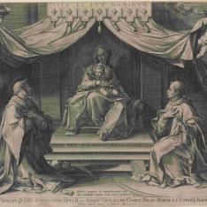 La Virgen, San Lorenzo y San Esteban