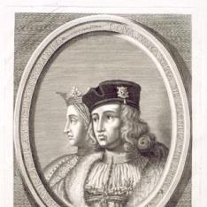 Felipe y Juana, reyes de Castilla y León