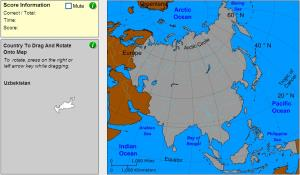 Countries of Asia. Geographer. Sheppard Software