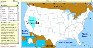 States of United States. Tutorial. Sheppard Software