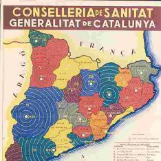 Divisió sanitaria de Catalunya