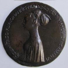 Medalla de Cecilia Gonzaga