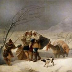 La nevada, o El Invierno
