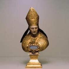 Busto-relicario de San Celso