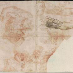 Estudios de yeserías de bóvedas y anatomía