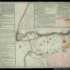Plano dela entrada del Puerto dela Havana