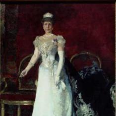 S. M. la Reina María Cristina