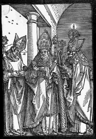 Tres obispos
