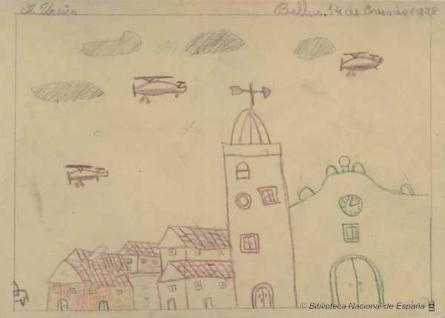 Pueblo y aviones
