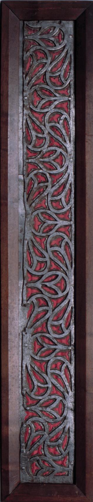 Plancha de hierro recortado