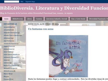 BiblioDiversia. Literatura y Diversidad Funcional