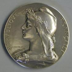 Medalla conmemoratia de la inauguración del Hospicio Verdier