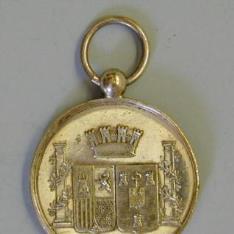 Medalla de proclamación de Amadeo I, La Habana