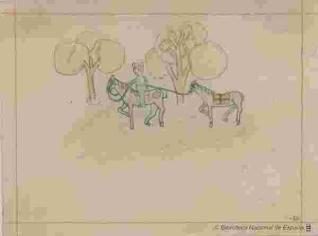 Miliciano a caballo