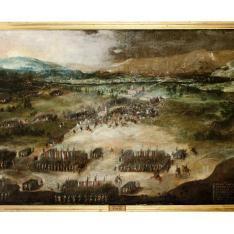 Batalla en Italia - El cerco español en torno a la ciudad piamontesa de Asti: Victoria del día 15 de mayo de 1615