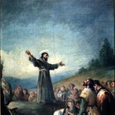 Predicación de San Francisco de Asís