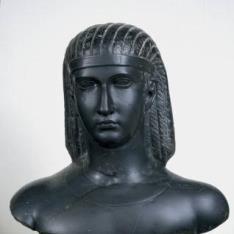 Busto de un faraón