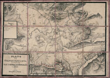 Plano de la Cuenca de Pamplona
