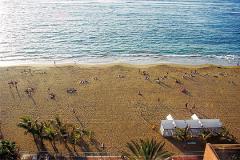 Dos playas fetiche para los canarios