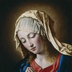 La Virgen en meditación