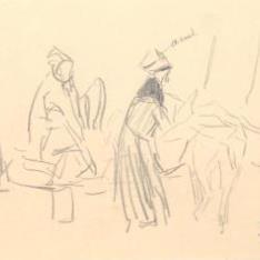 Ancianas con burro, Lequeitio