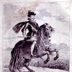 Retrato ecuestre de Felipe III