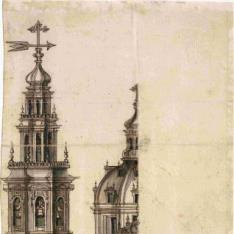 Proyecto para la fachada de la Catedral de Cádiz