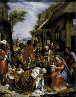 La Adoración de los Reyes Magos