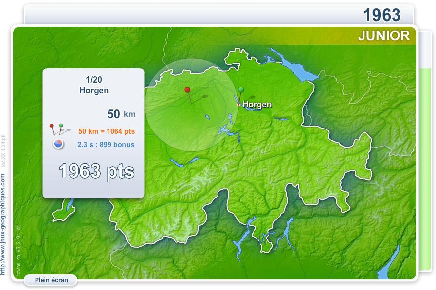 Villes de Suisse Junior. Jeux géographiques
