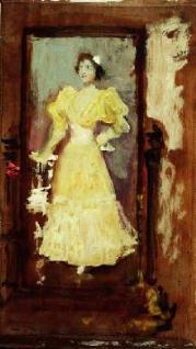 Boceto de retrato femenino