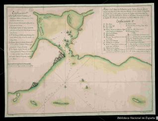 Plano de el Puerto de Santa Catalina