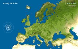 Halbinseln in Europa. Toporopa