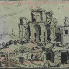 Tercera vista de las ruinas del Palatino