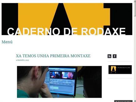 CADERNO DE RODAXE