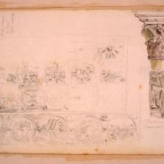 Detalles decorativos del Monasterio de Veruela (?), Zaragoza