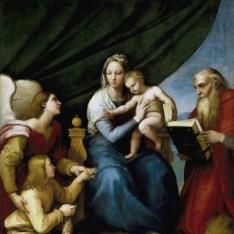 Sagrada Familia con Rafael, Tobías y San Jerónimo, o  Virgen del pez