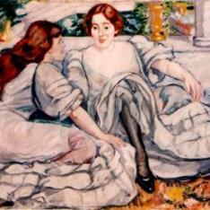Mujeres en gris