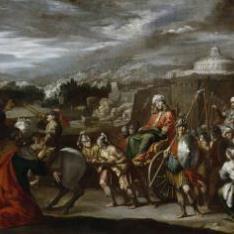 El triunfo de José en Egipto