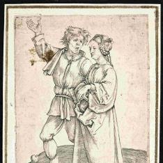 El aldeano y su mujer