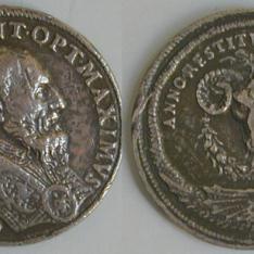 Medalla del Papa Gregorio XIII