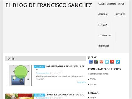 El blog de Francisco Sánchez