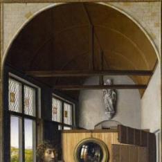 San Juan Bautista y el maestro franciscano Enrique de Werl