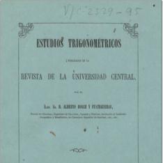 Estudios trigonométricos