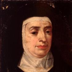 Retrato de monja carmelita