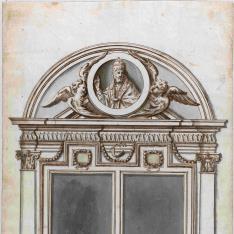 Puerta de la Iglesia de San Juan de Letrán que conduce al Palacio Papal Lateranense