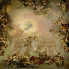 Alegoría de la institución de la Orden de Carlos III