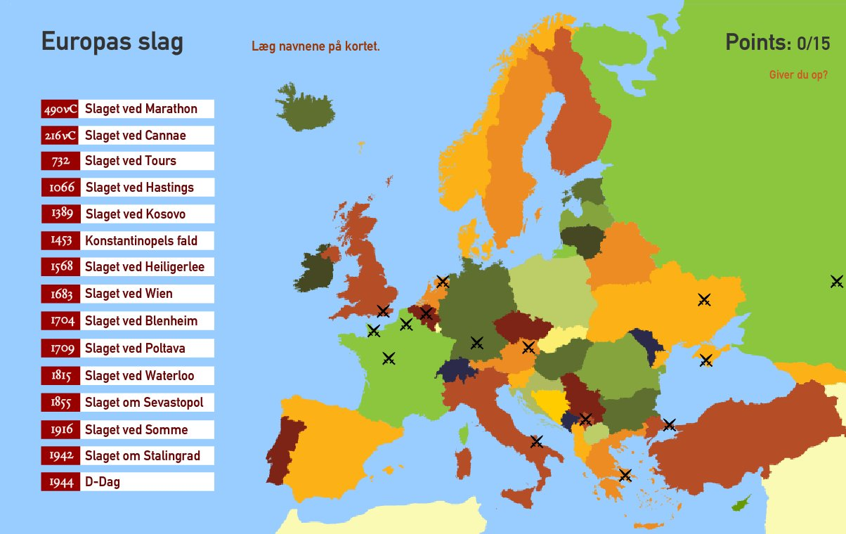 Interaktivt Kort Over Europa Europas Slag Toporopa Mapas