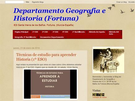 Departamento Geografía e Historia (Fortuna)