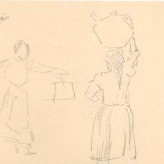 Mujeres con cántaro, Lequeitio