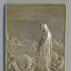 Medalla conmemorativa de la muerte del presidente francés Marie François Sadi Carnot